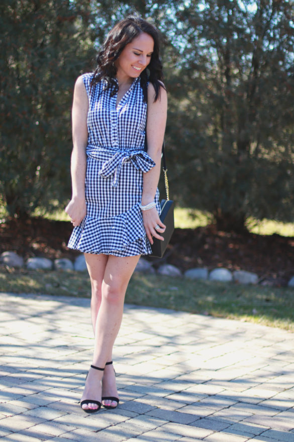 pictured: Shop The Look – Gingham Shirt Dress
