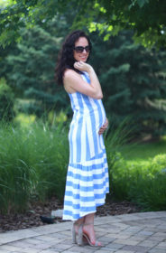 pictured: Shop The Look – Striped Maxi & Sandals